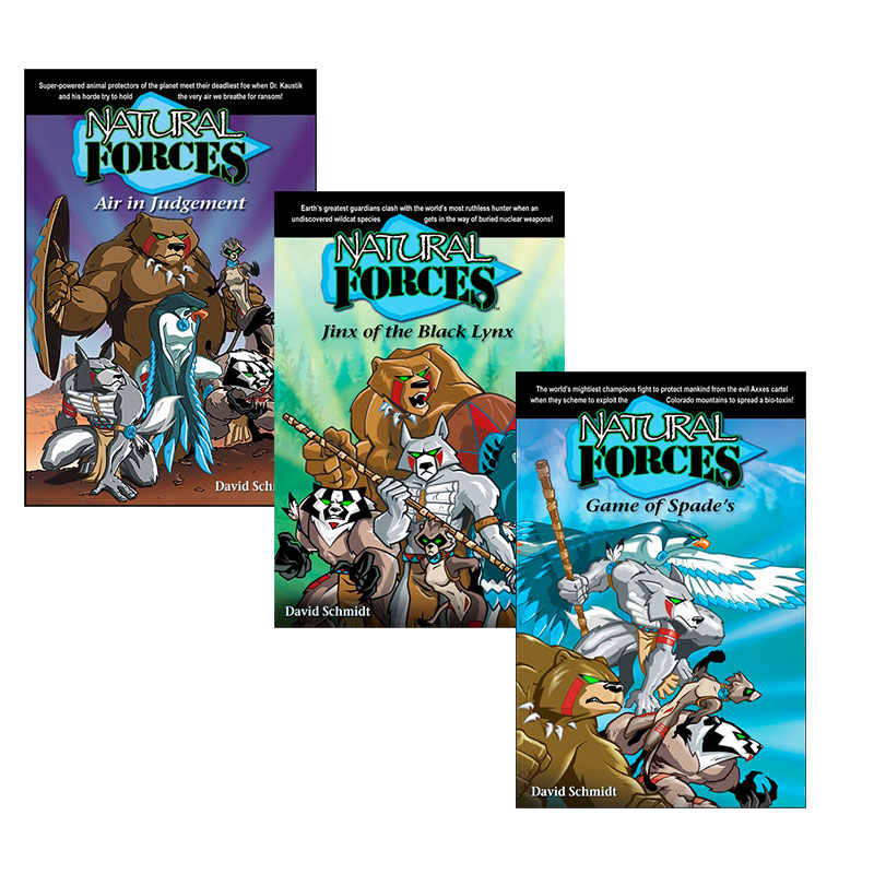 Natural Forces 3 book set